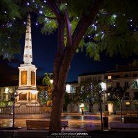 Plaza de la Merced en Navidad