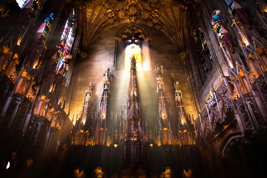 Viaje a Escocia e Irlanda: St. Giles' Church – Edimburgo (Escocia)