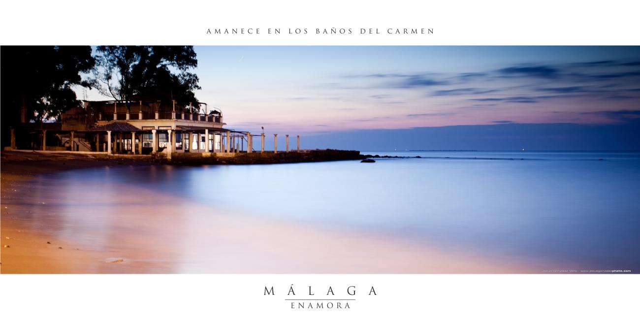 Nueva Serie: Málaga Enamora. A la venta lista para colgarla en tu casa.