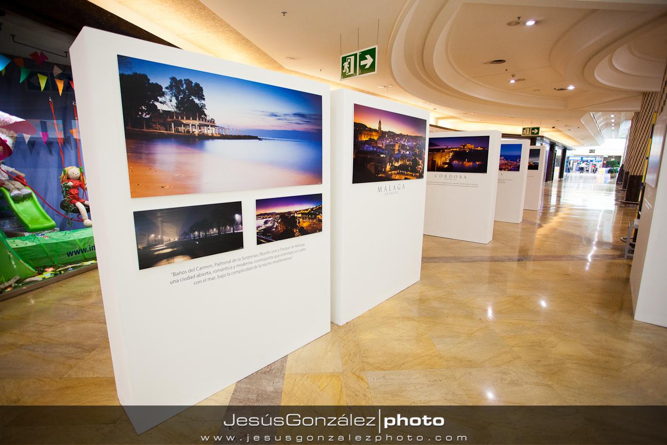 Exposición en Centro Comercial Rosaleda (Pasillo Central)