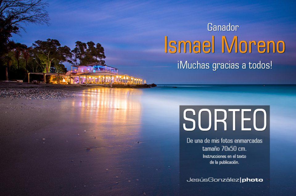 El ganador del sorteo de Facebook es: Ismael Moreno