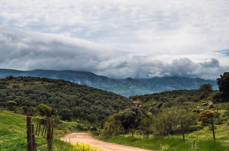 """Nube Doble"" Un timelapse de Málaga"