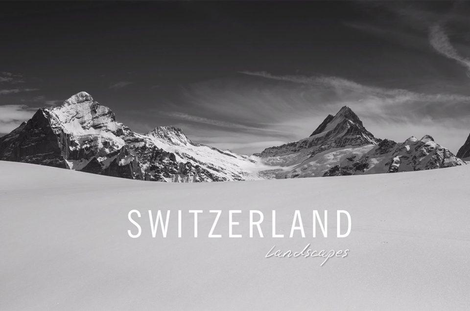Switzerland Landscapes. Vídeo Timelapse